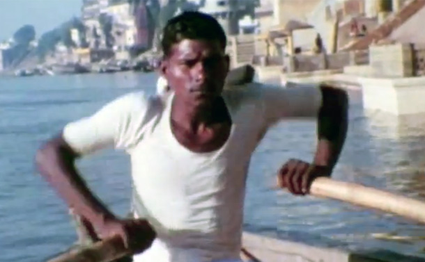 Found Footage – Ganges River – Varanasi, India 60's