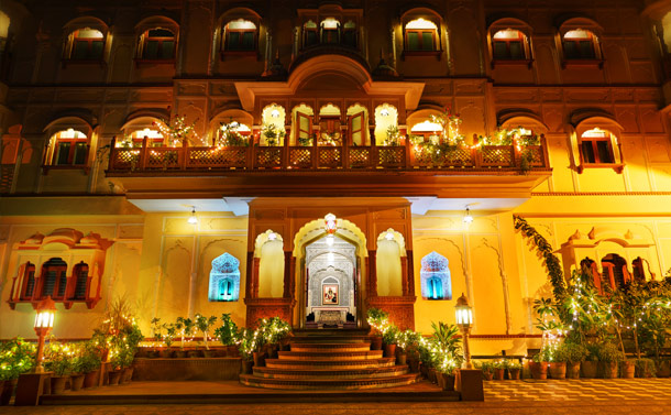 Pearl Palace Heritage Hotel in Jaipur, India