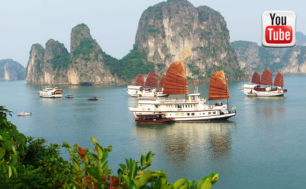 Ha Long Bay on Dragon's Pearl – Indochina Junk Company