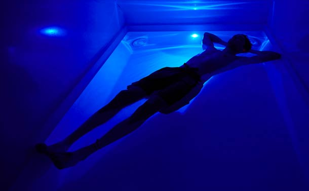 I Went To A Sensory Deprivation Tank and LIVED.